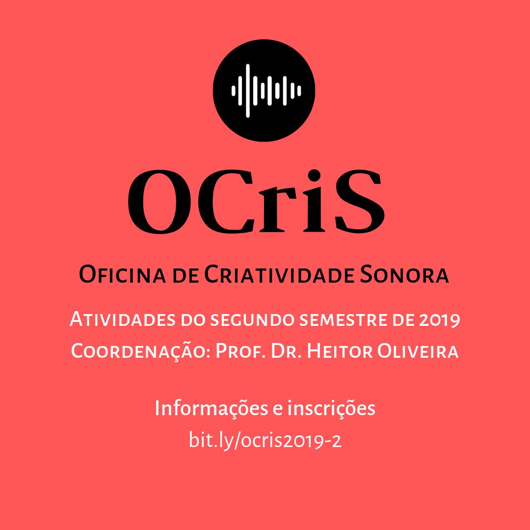 UFT abre inscrições para Oficina de Criatividade Sonora – OCris