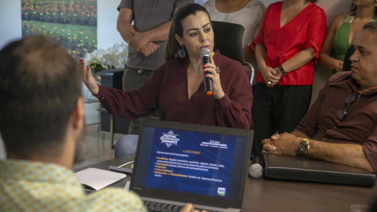 Prefeitura lança programação artística do 13º Festival Gastronômico de Taquaruçu