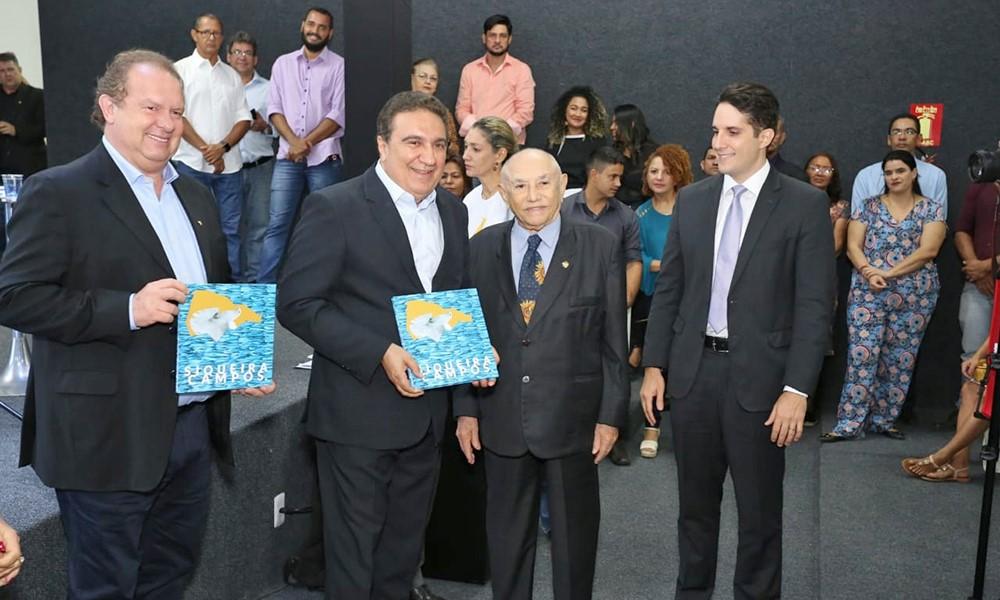 Em Gurupi, governador Mauro Carlesse prestigia inauguração de Centro Cultural e exposição sobre ex-governador Siqueira Campos