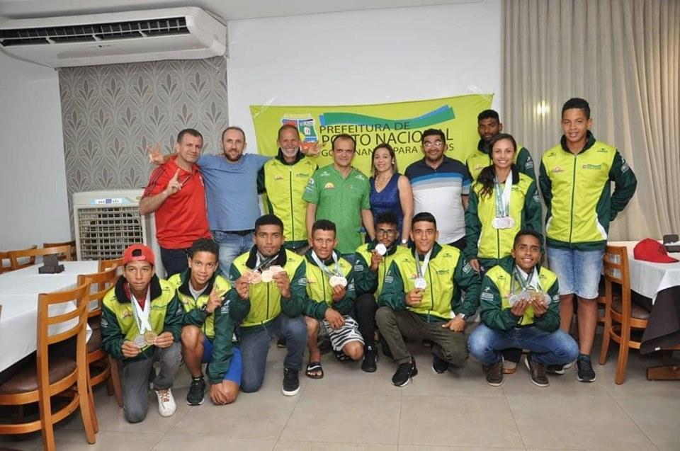 Mais um sucesso da canoagem portuense no cenário brasileiro