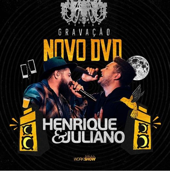 Henrique e Juliano anunciam gravação do novo DVD