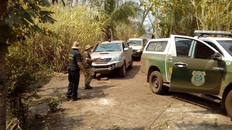 Operação Quebracho combate crime ambiental em Reserva Kadiwéu, em MS