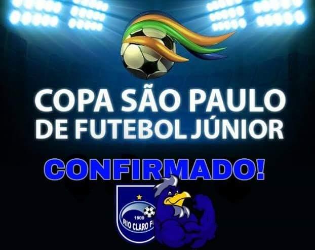 Rio Claro participará da Copa São Paulo de Futebol Júnior 2020