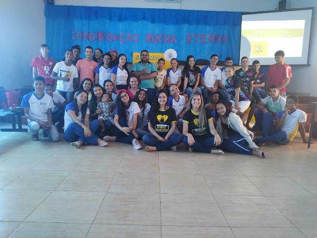 Saúde de Chapada de Areia promove roda de conversa com alunos sobre prevenção ao suicídio e valorização da vida