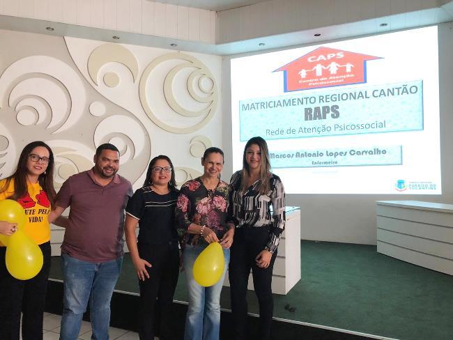 Secretária de Saúde de Chapada de Areia participa do Matriciamento Regional do Cantão da Rede de Atenção Psicossocial
