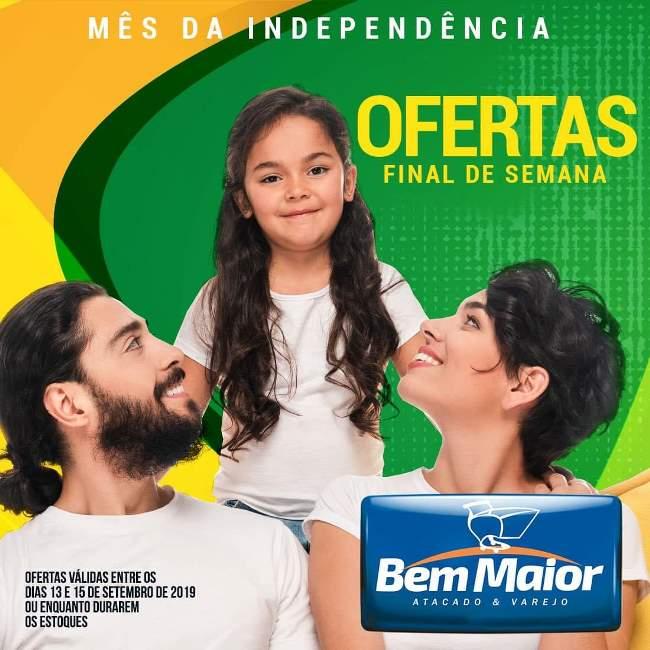 Supermercado Bem Maior tem ofertas especiais neste final de semana em Paraíso