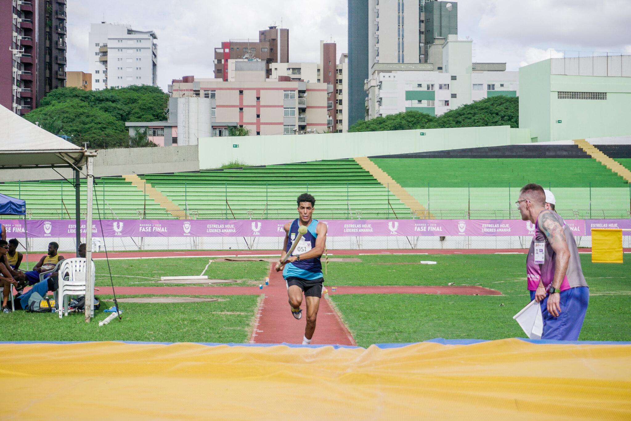 270 atletas chegam a Fortaleza para Jogos Universitários Brasileiros