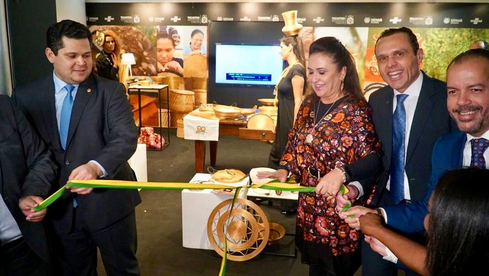 Exposição Tesouros do Tocantins é destaque no Senado Federal