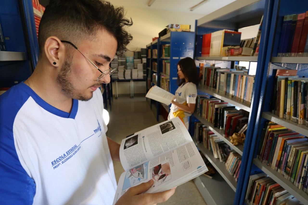 Livro Didático 2020: Tocantins é o único a registrar escolha em 100% das escolas estaduais