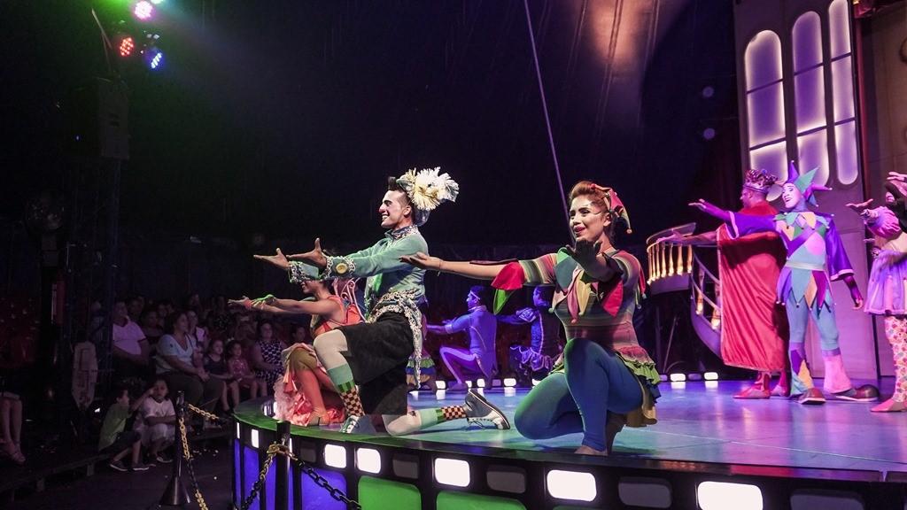 """São Paulo recebe """"Circo dos Sonhos no Mundo da Fantasia"""""""