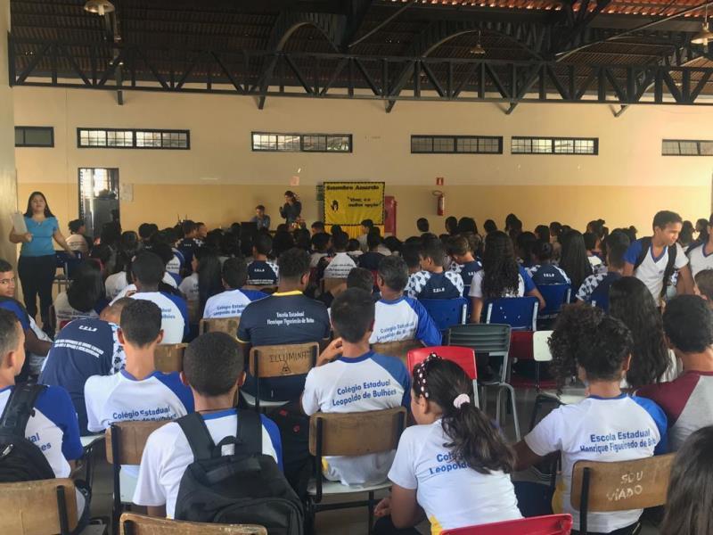 Mais de 100 alunos do Tocantins são capacitados em programa de educação ambiental