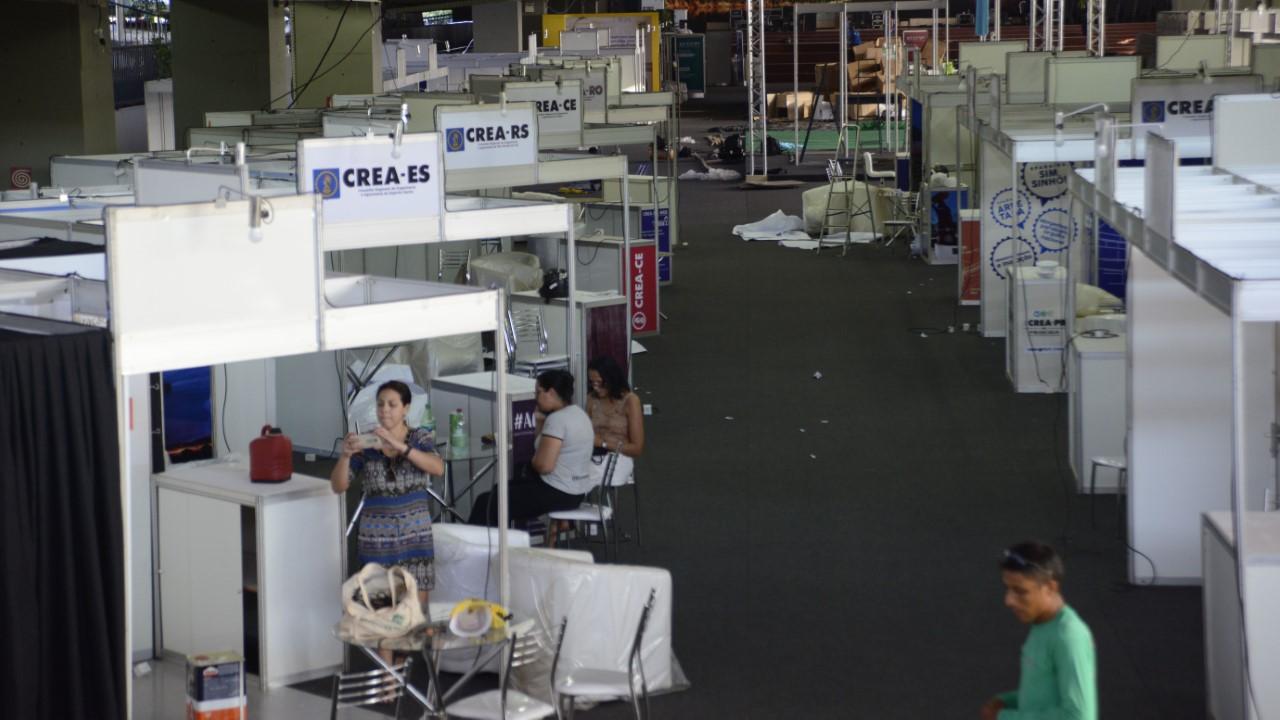 Últimos ajustes são executados para receber um dos eventos mais importantes da engenharia do Brasil
