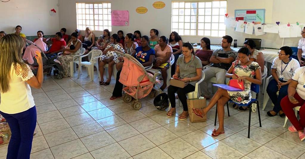 Secretaria de Saúde de Gurupi implanta mais um grupo de gestante nas unidades básicas de saúde