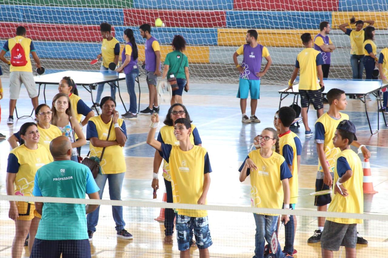 Estudantes tocantinenses vivenciam modalidades paralímpicas de forma lúdica e inclusiva