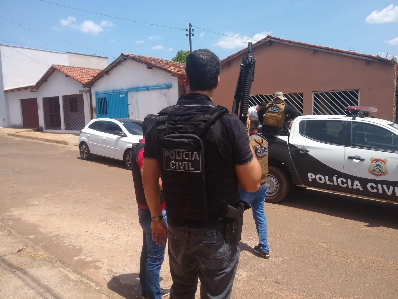 Polícia Civil deflagra operação ruptura e prende vários criminosos em Araguaína