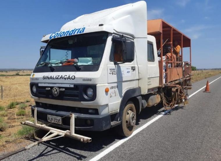 Importante corredor agropecuário, TO-070 tem sinalização revitalizada entre Aliança e Dueré