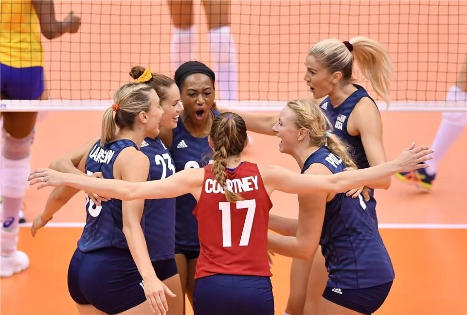Brasil perde para Estados Unidos na Copa do Mundo de Vôlei Feminino
