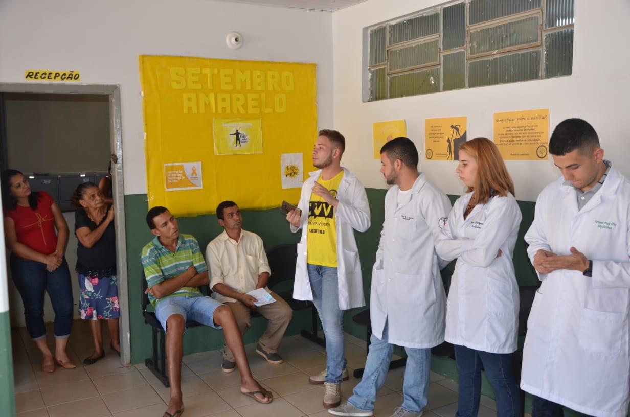 Secretaria da Saúde de Porto Nacional orienta a população portuense sobre o combate ao Suicídio