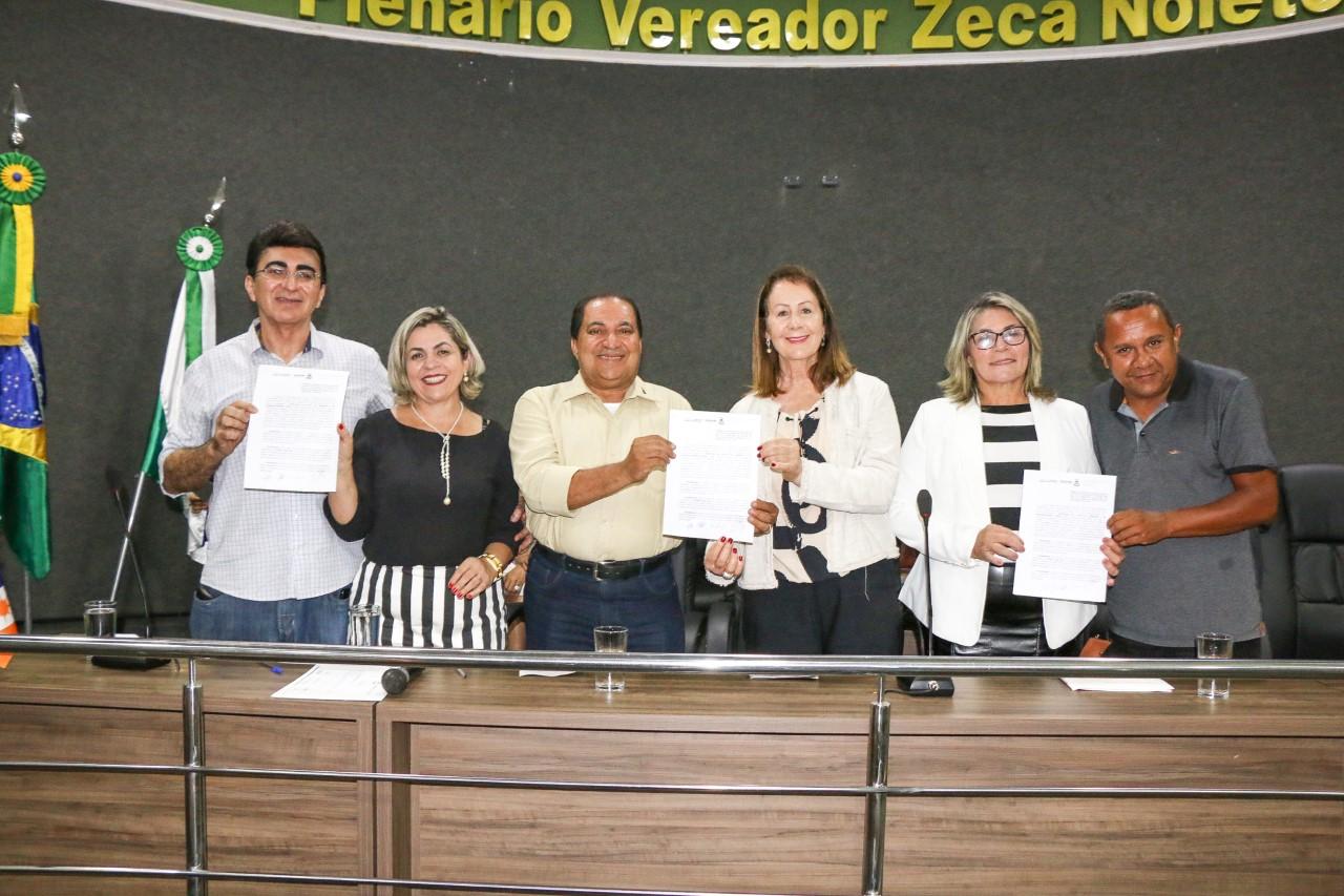 Assinatura de termo entre Governo e prefeitura de Guaraí deve beneficiar mais de 2400 famílias