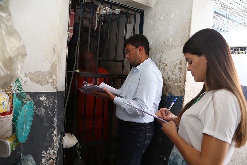 Recomendação da Defensoria Pública alerta sobre situação da Cadeia de Cristalândia