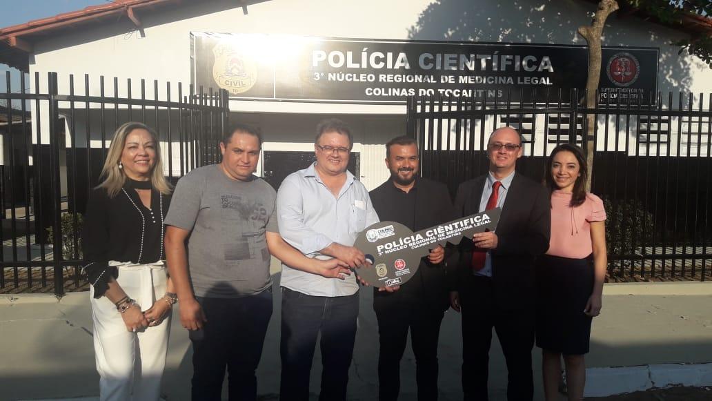 Segurança Pública recebe em Colinas as instalações da nova sede da Polícia Científica e do IML