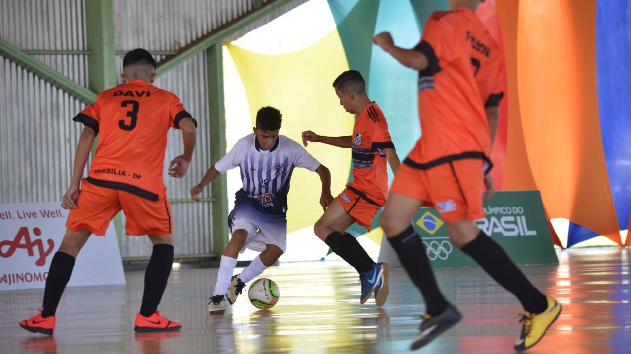Abertos oficialmente os Jogos Escolares da Juventude em quatro modalidades esportivas