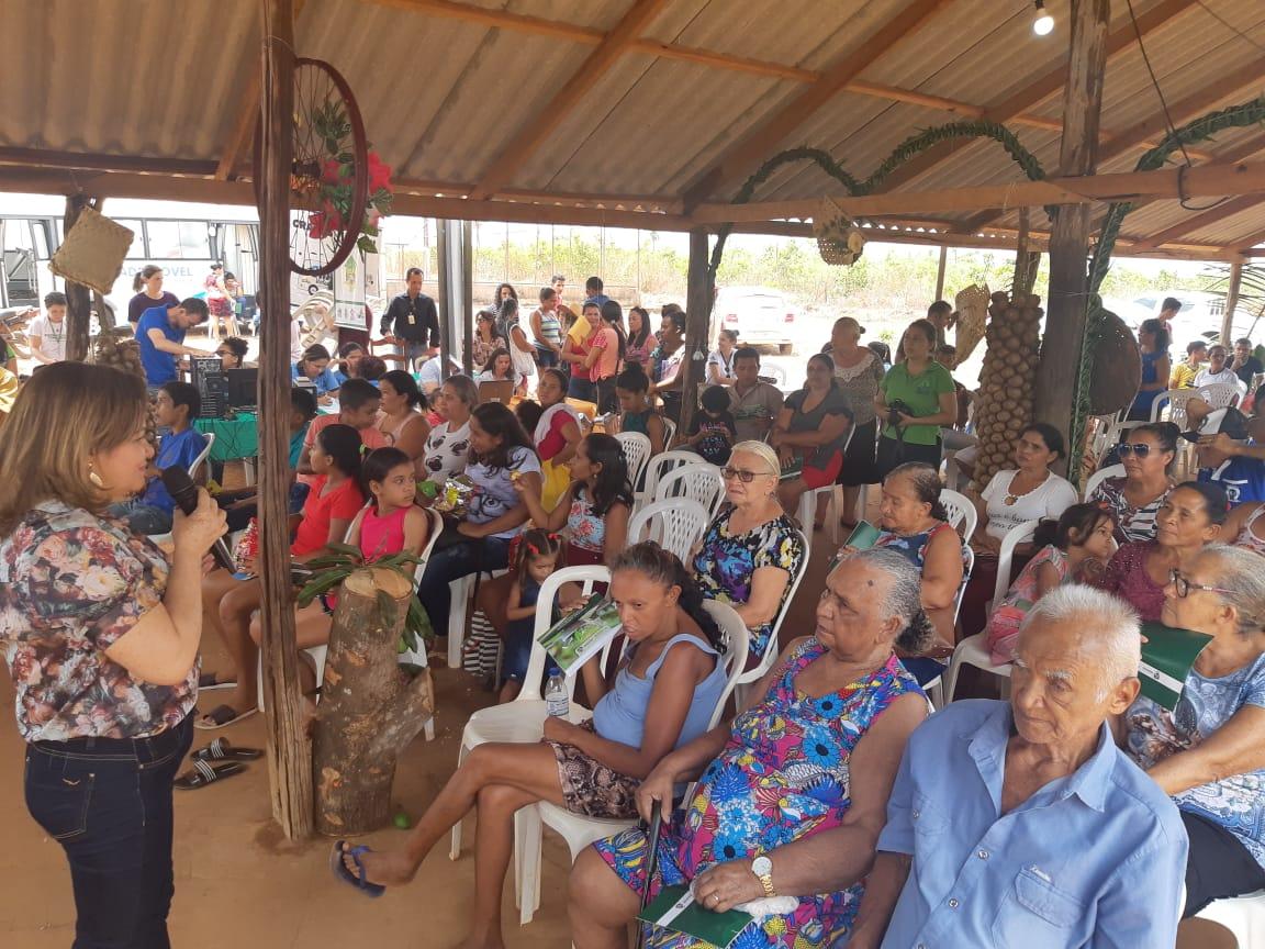 Mulheres do Assentamento 1º de Janeiro participaram de ações em celebração ao Dia Internacional da Mulher Rural