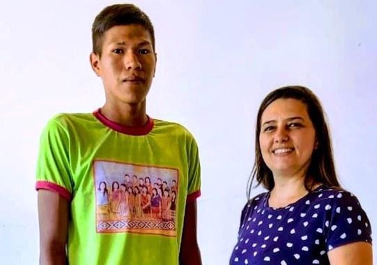 Aluno indígena da etnia Krahô disputa a semifinal da Olimpíada de Língua Portuguesa