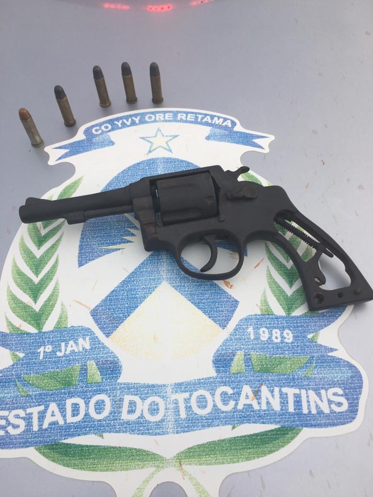 Homem é preso por posse ilegal de arma de fogo em assentamento de Santa Fé