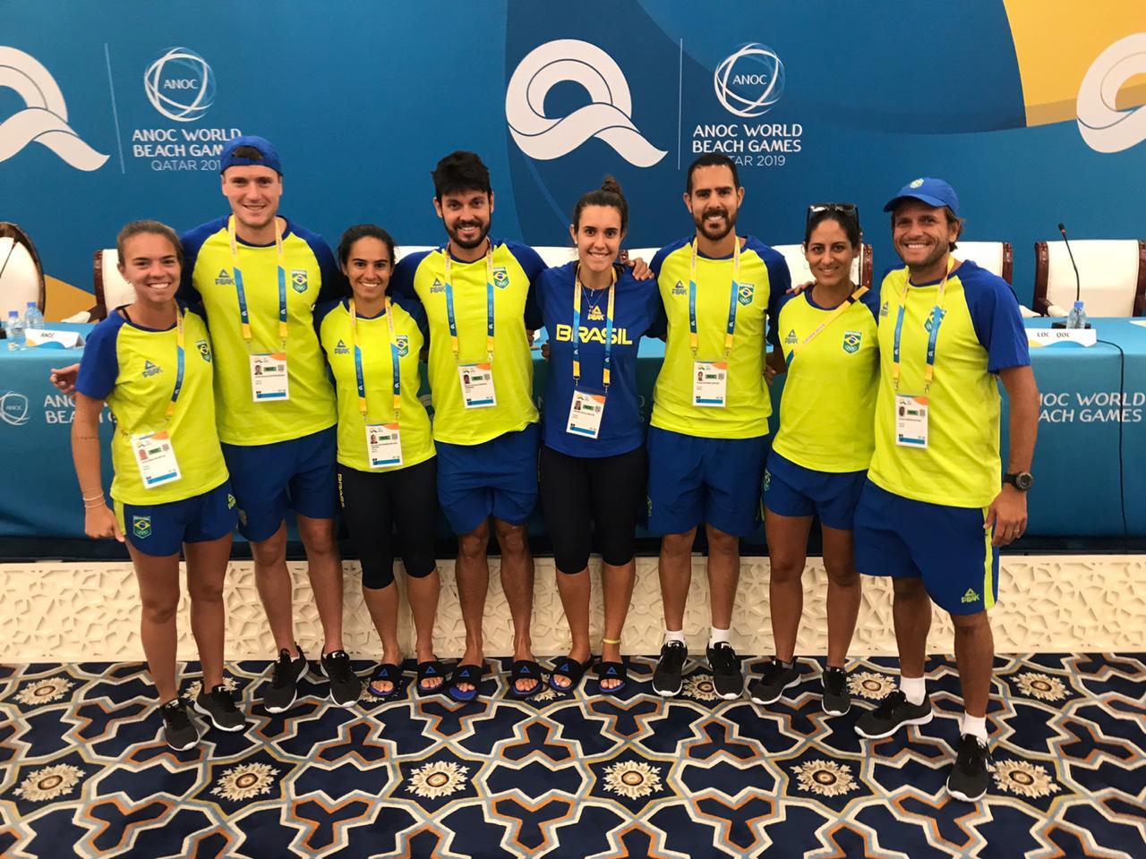 Beach Tennis do Brasil participa dos Jogos Mundiais de Praia