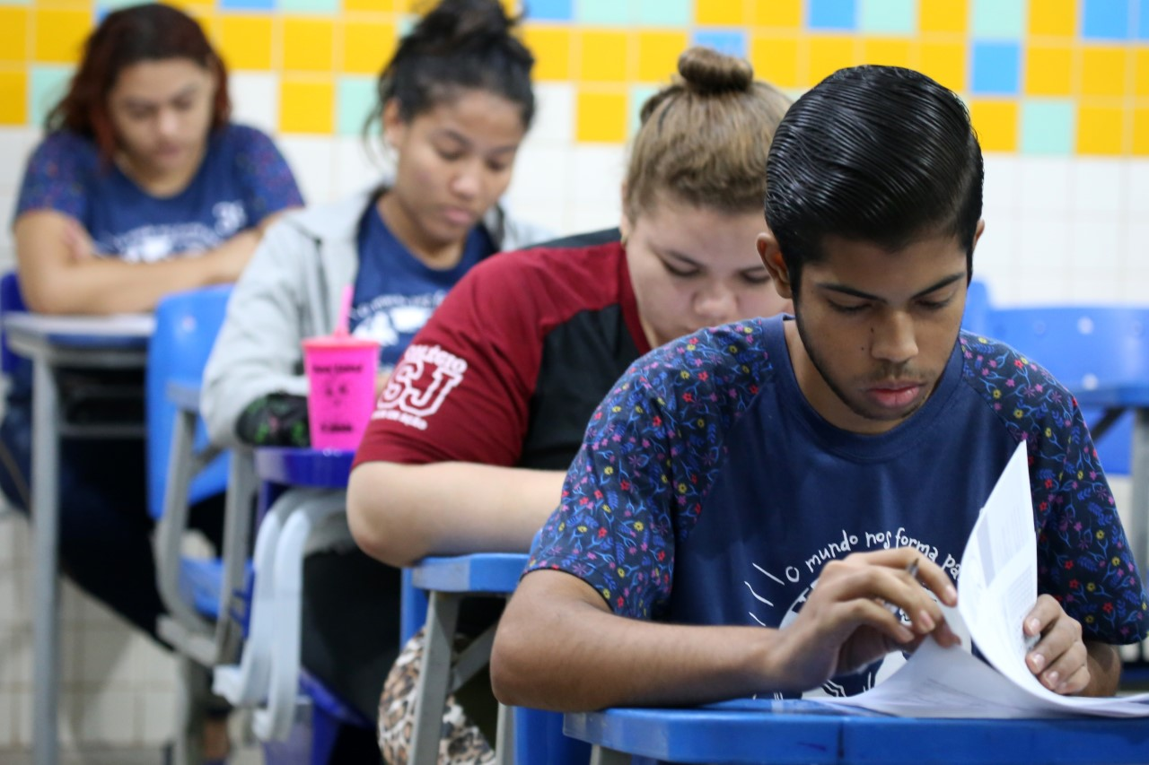 Educação realiza prova do II simulado do Enem para as disciplinas de exatas