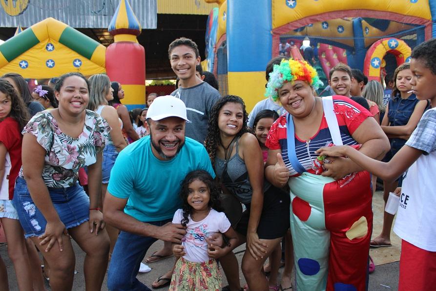 Prefeitura Municipal de Cristalândia realiza evento em comemoração ao Dia da Criança