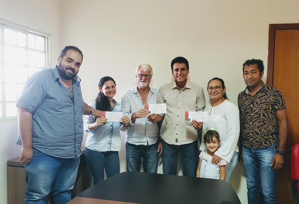 Presidente do MDB no Tocantins deputado Nilton Franco recebe lideranças de Silvanopolis