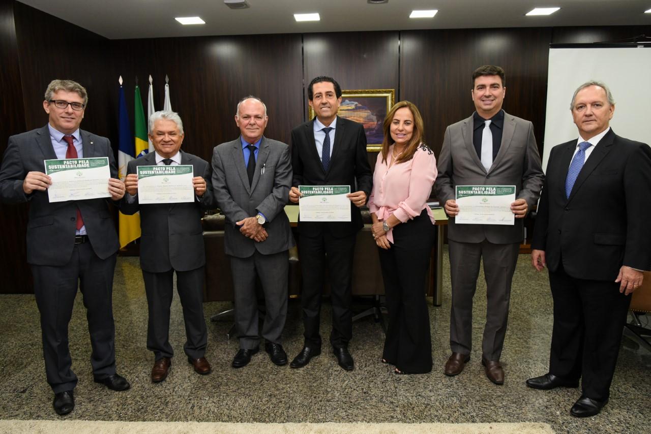 MPTO assina pacto pela sustentabilidade