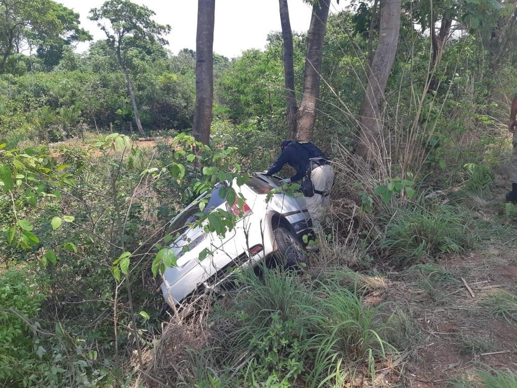 Duas pessoas morrem após ficarem presas nas ferragens durante acidente na BR-153 próximo a Figueirópolis