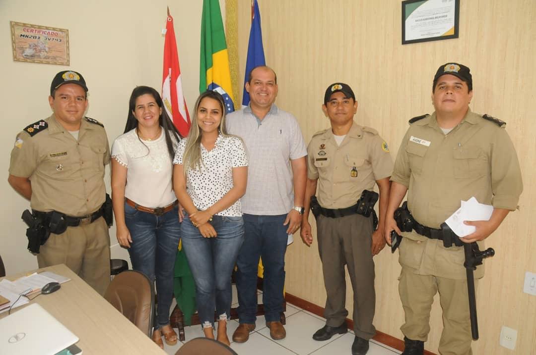 Prefeitura de Miracema e 6ª Companhia Independente da Polícia Militar acertam detalhes para a formatura do Proerd