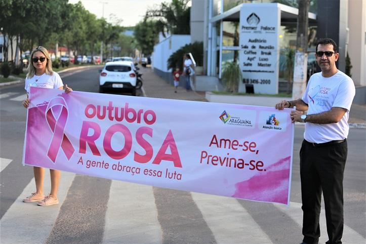 Corrida na Via Lago encerra Outubro Rosa em Araguaína