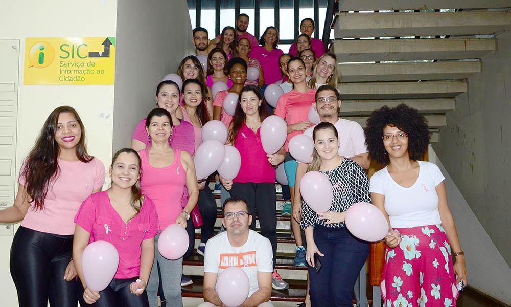 Controladoria mobiliza servidores em caminhada contra o câncer