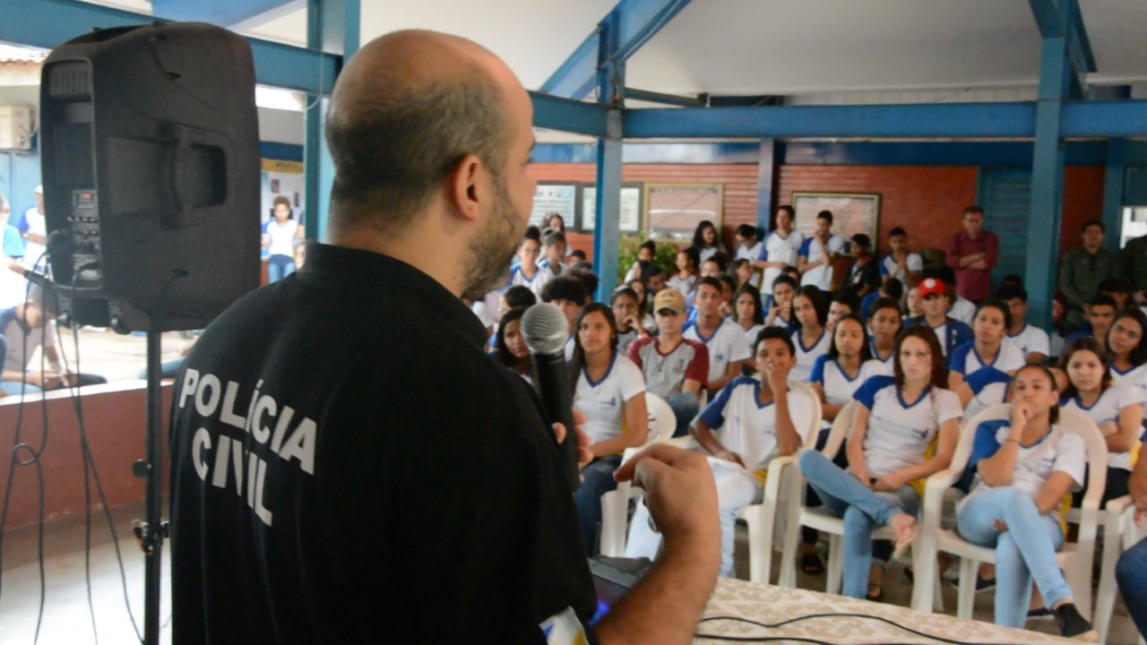 Polícia Civil nas Escolas chega à região Norte da Capital