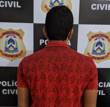 Suspeito de aplicar golpes pela internet é preso pela Polícia Civil em Xambioá