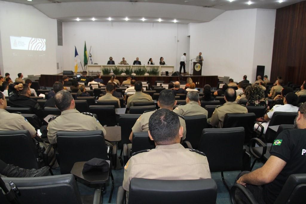 Seminário de Sociologia do Crime e da Violência reúne profissionais da segurança pública em Palmas