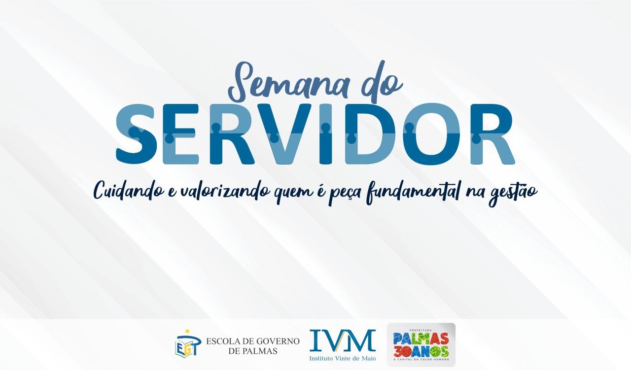 Intensa programação movimentará Semana do Servidor em Palmas