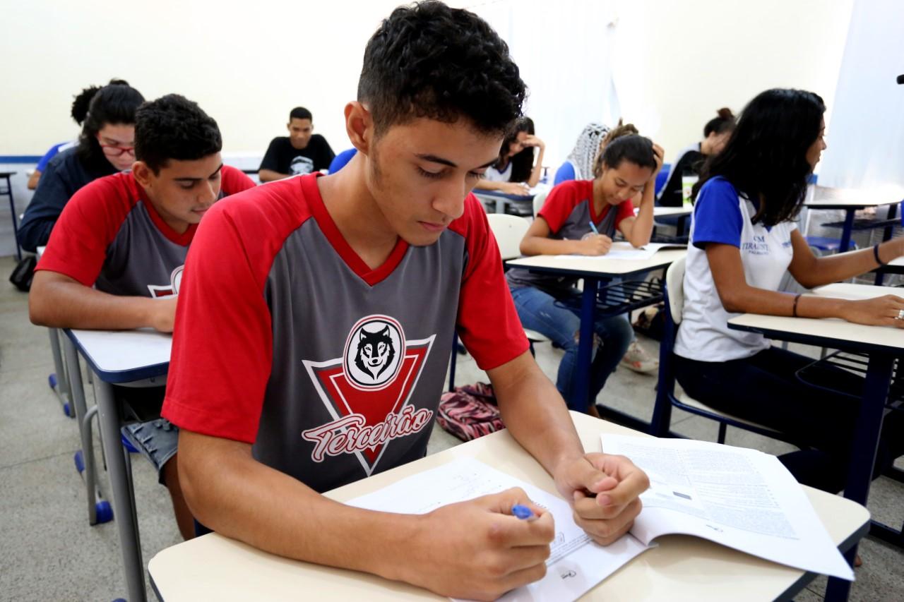 Alunos de 360 unidades de ensino da rede estadual participarão das avaliações do Saeb