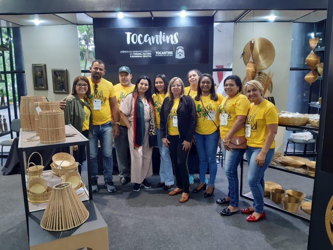 Tocantins comemora bons resultados obtidos no 13º Salão do Artesanato Raízes Brasileiras