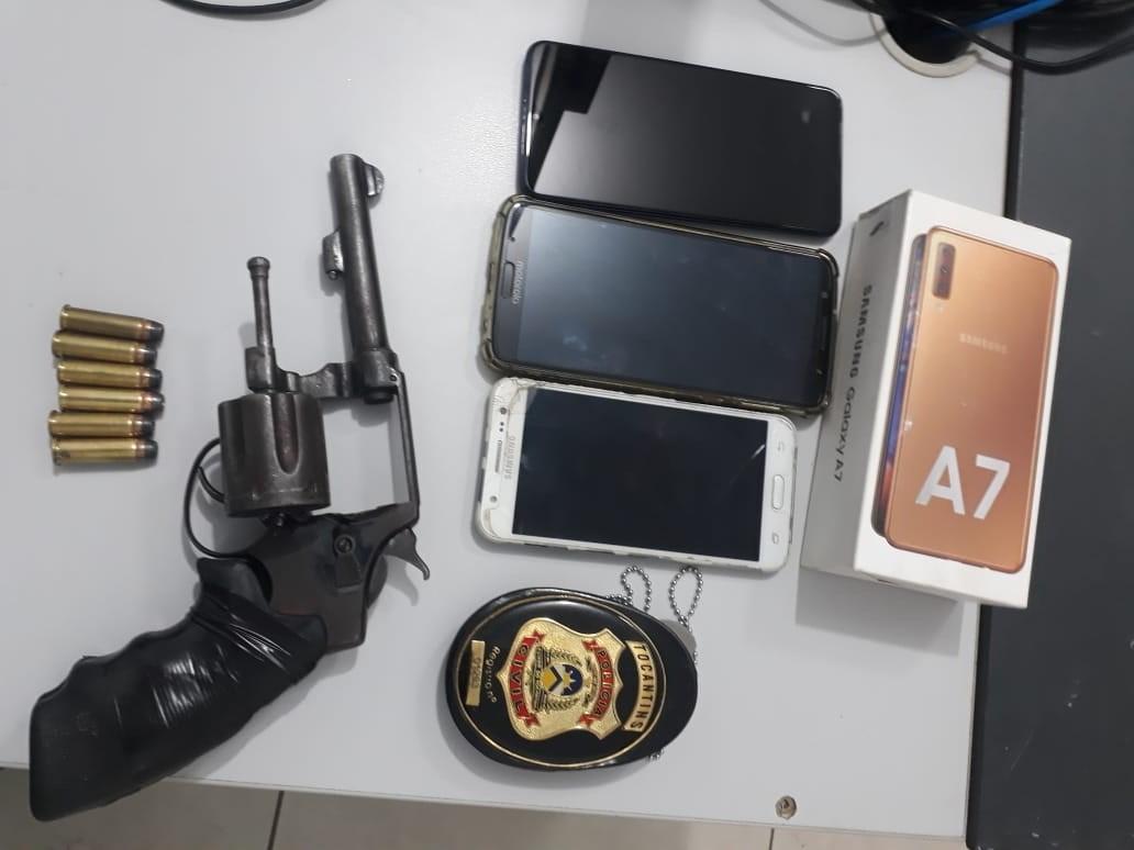 Três homens suspeitos de tentativas de homicídios são presos pela Polícia Civil em Gurupi