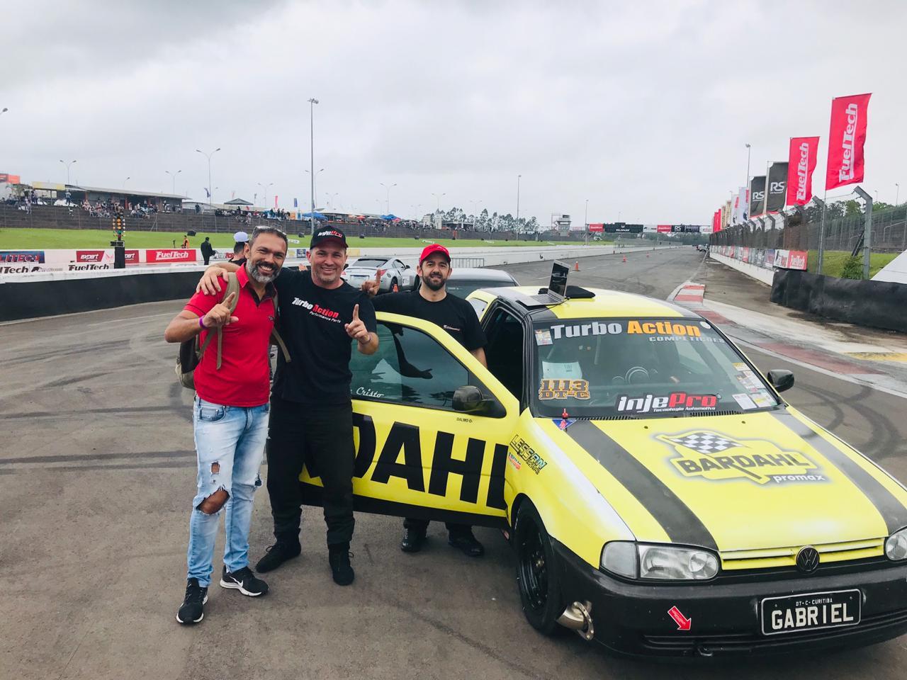 Dalmo Abreu é campeão do VP 201 Metros de Arrancada 2019 em Velopark (RS)