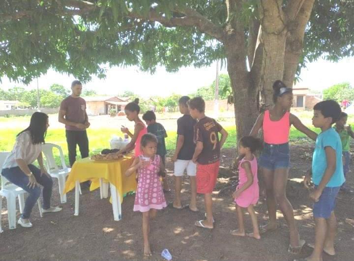 Assistência Social de Fátima promove piquenique para crianças e adolescentes
