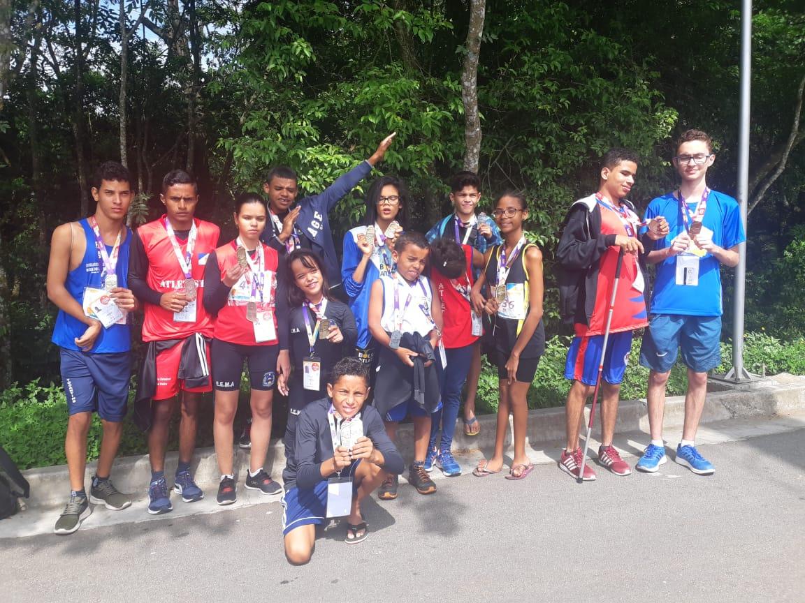 Tocantins fatura 15 medalhas no primeiro dia das Paralimpíadas Escolares 2019