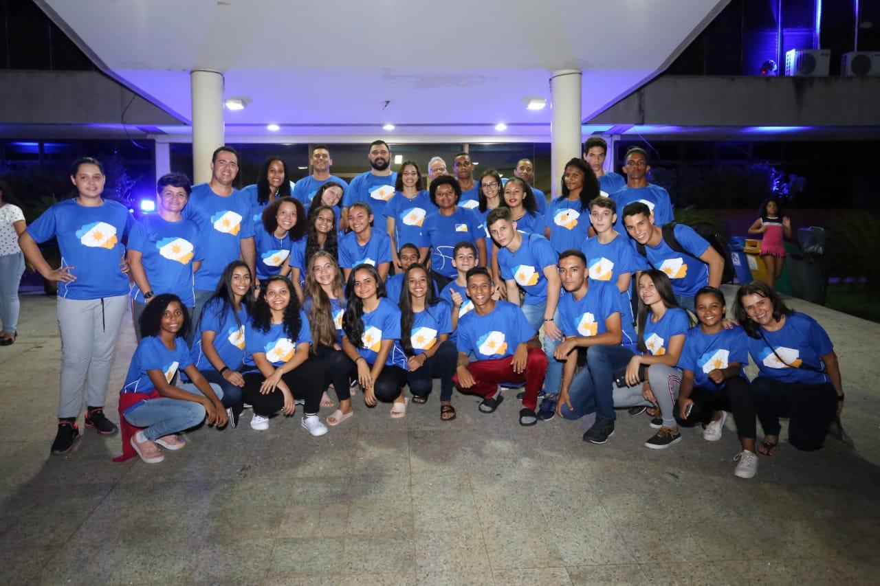 Delegação do Tocantins chega a Blumenau para etapa nacional dos Jogos Escolares da Juventude