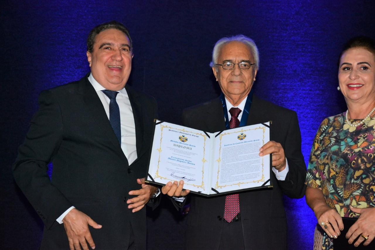 Moisés Avelino é homenageado em Gurupi com a Comenda Bernardo Sayão